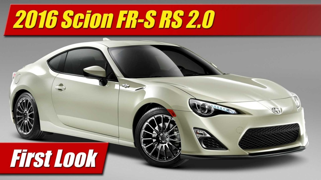 first look 2016 scion fr s release series 2 0 testdriven tv. Black Bedroom Furniture Sets. Home Design Ideas