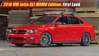 First Look: 2016 Volkswagen Jetta GLI MOMO Edition