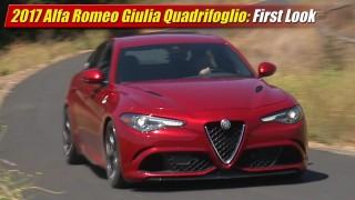 First Look: 2017 Alfa Romeo Giulia Quadrifoglio