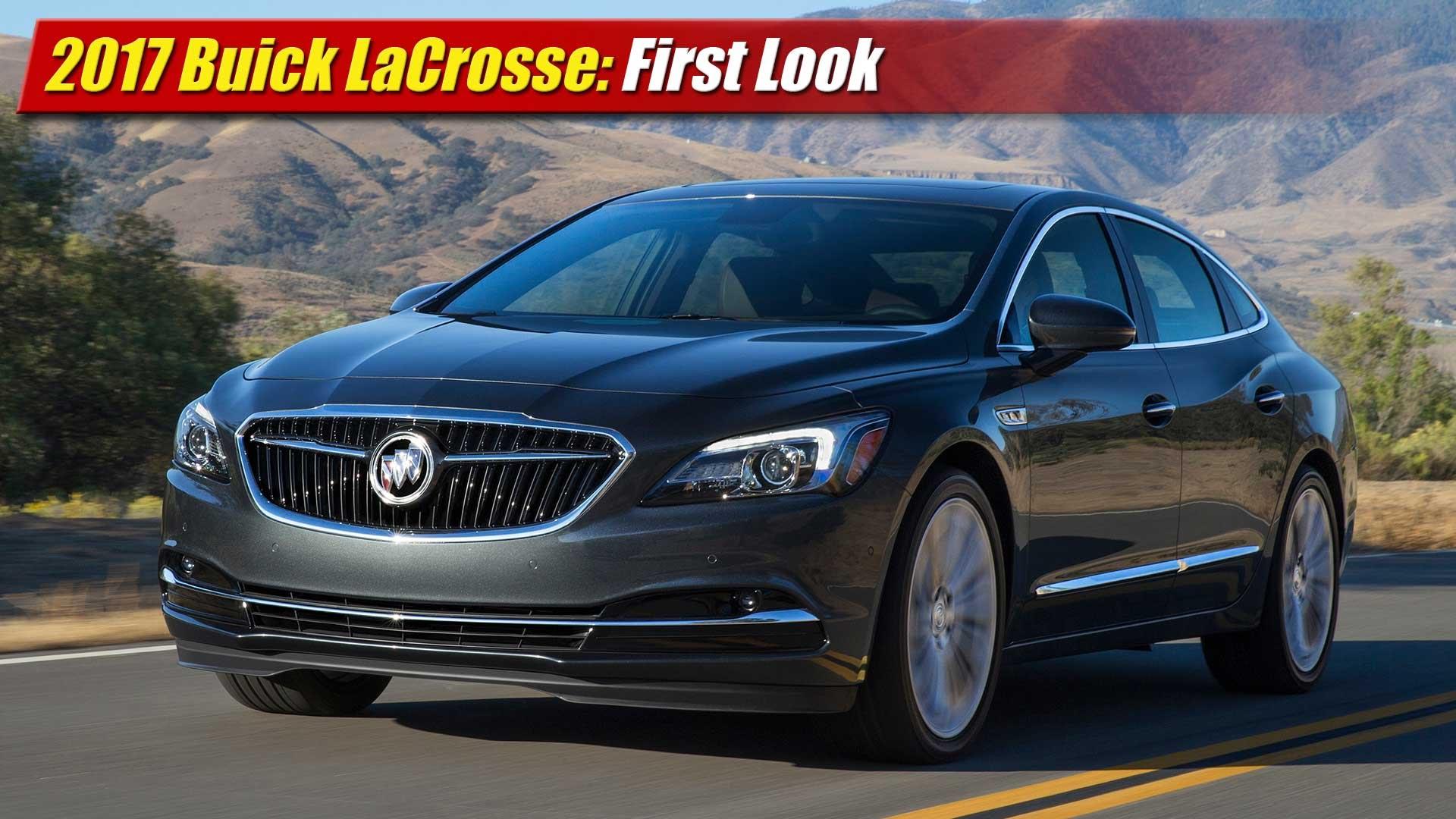 Amazing First Look 2017 Buick LaCrosse  TestDrivenTV