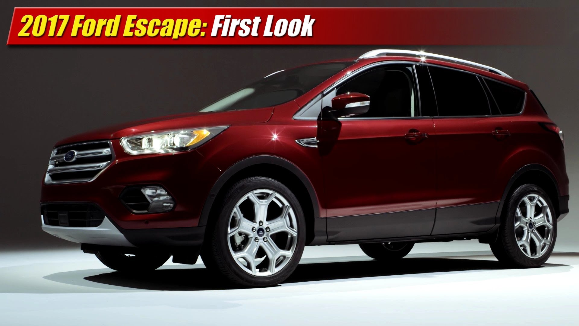 first look 2017 ford escape testdriven tv. Black Bedroom Furniture Sets. Home Design Ideas