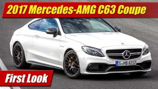 First Look: 2017 Mercedes-AMG C63 Coupe