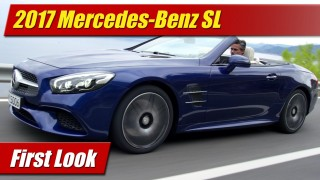 First Look: 2017 Mercedes-Benz SL