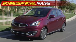 First Look: 2017 Mitsubishi Mirage