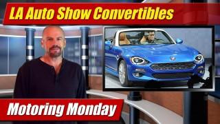 Motoring Monday: LA Auto Show Convertibles