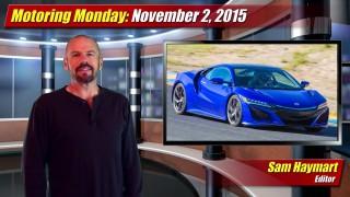 Motoring Monday: November 2, 2015
