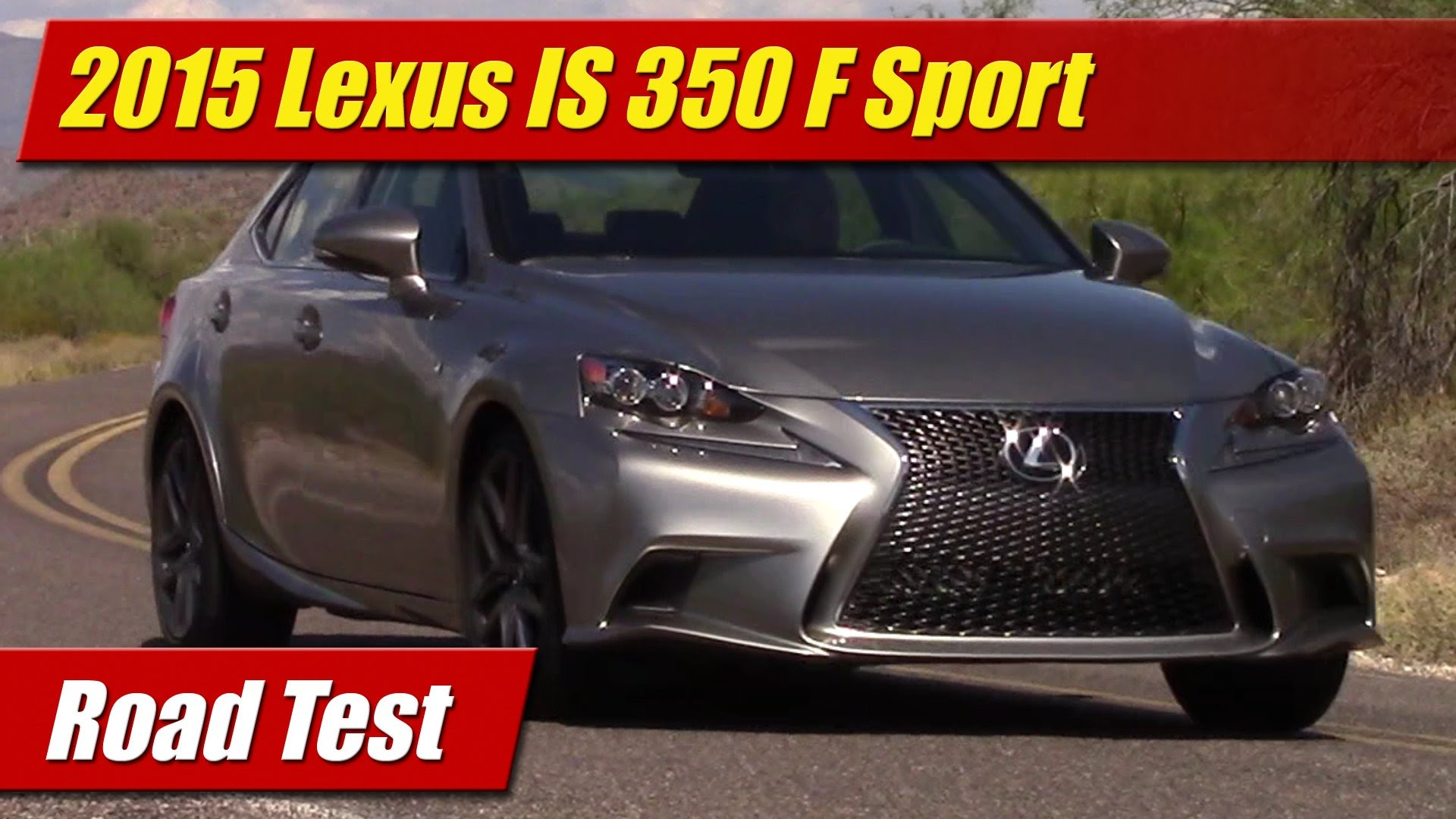 road test 2015 lexus is 350 f sport testdriven tv. Black Bedroom Furniture Sets. Home Design Ideas