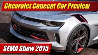 SEMA Show 2015: Chevrolet Concepts Preview