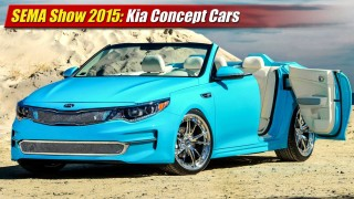 SEMA Show 2015: Kia Concepts