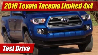 Test Drive: 2016 Toyota Tacoma Limited 4×4