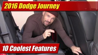 10 Coolest Features: 2016 Dodge Journey