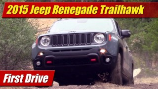 First Drive: 2015 Jeep Renegade Trailhawk