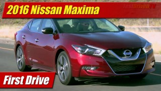 First Drive: 2016 Nissan Maxima