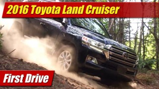 First Drive: 2016 Toyota Land Cruiser