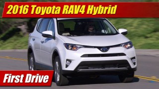 First Drive: 2016 Toyota RAV4 Hybrid