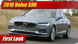 First Look: 2016 Volvo S90