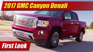 First Look: 2017 GMC Canyon Denali