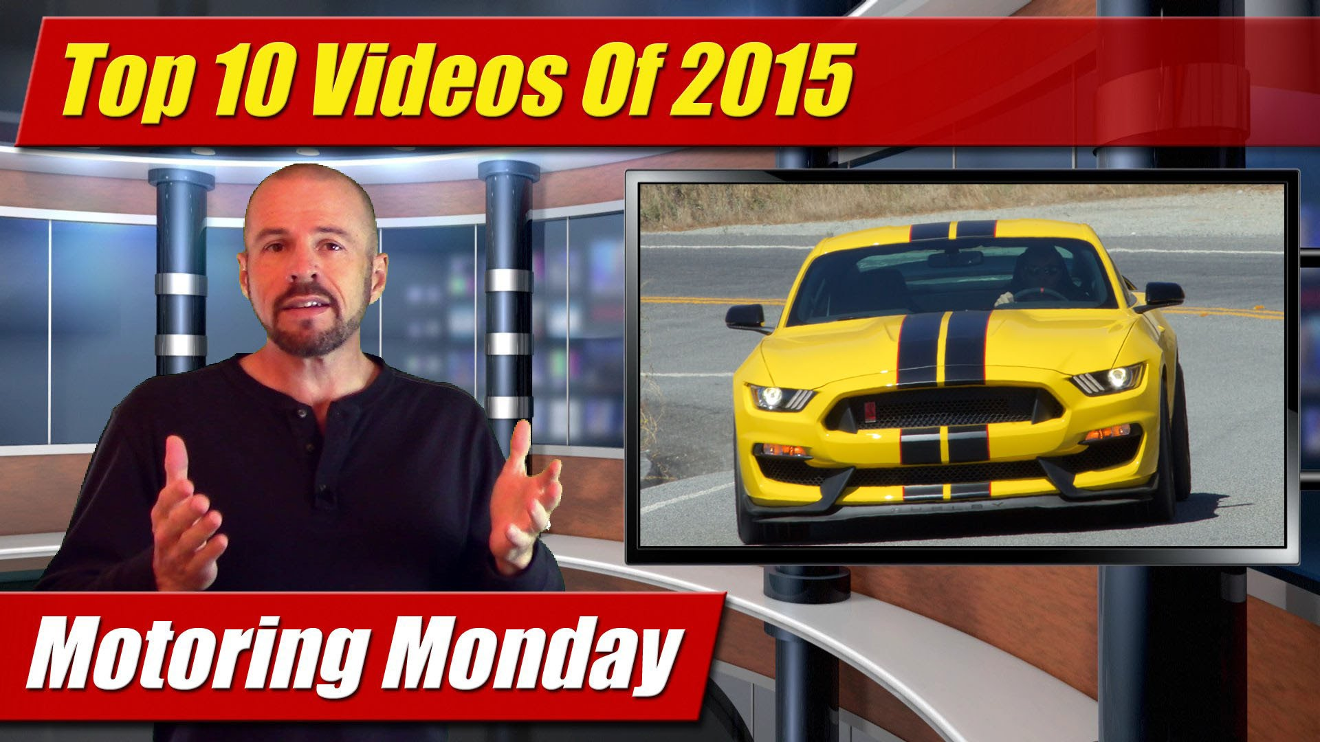 Motoring Monday: Top 10 Videos Of 2015