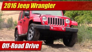Off-Road Drive: 2016 Jeep Wrangler