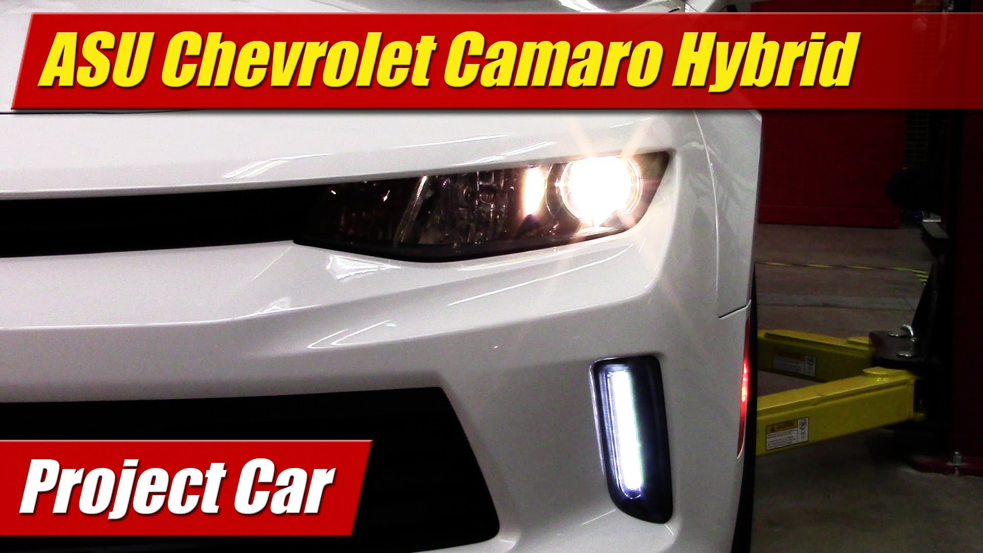ECOCar3: ASU\'s Chevrolet Camaro Plug-In Hybrid Project Car ...
