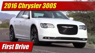 First Drive: 2016 Chrysler 300S