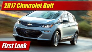 First Look: 2017 Chevrolet Bolt