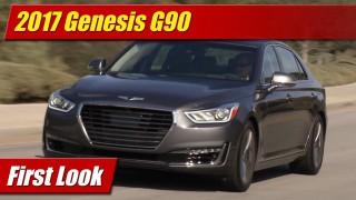 First Look: 2017 Genesis G90