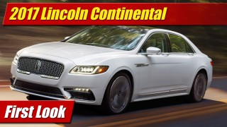 First Look: 2017 Lincoln Continental