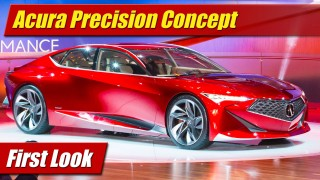 First Look: Acura Precision Concept