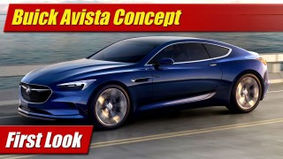 First Look: Buick Avista Concept