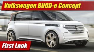 First Look: Volkswagen BUDD-e Concept
