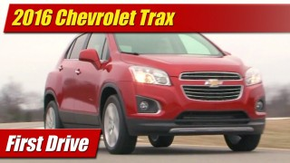 First Drive: 2016 Chevrolet Trax