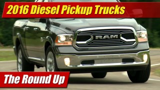 The Round Up: 2016 Diesel Pickups