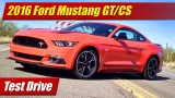 Test Drive: 2016 Ford Mustang GT/CS