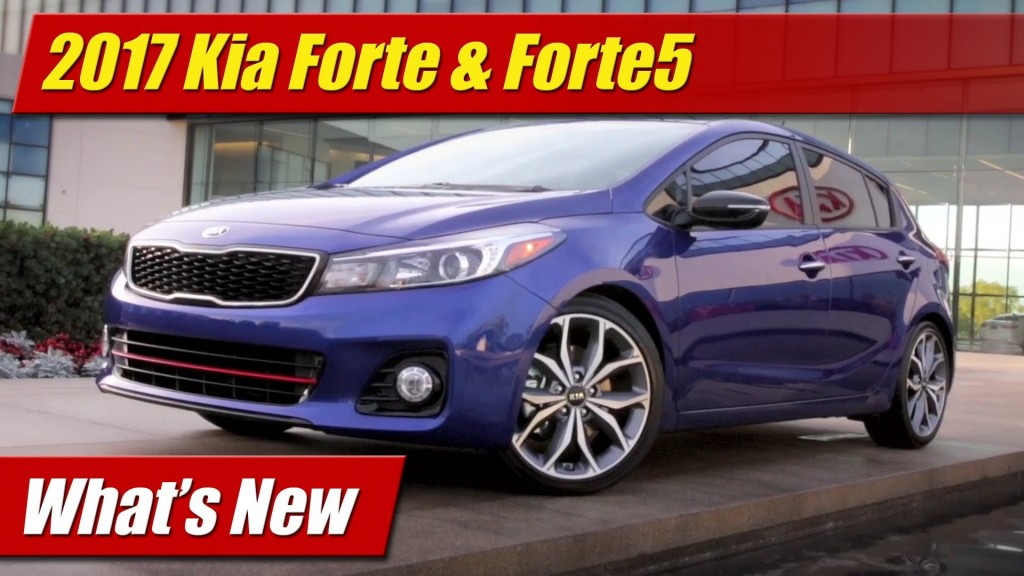 what 39 s new 2017 kia forte forte5 testdriven tv. Black Bedroom Furniture Sets. Home Design Ideas