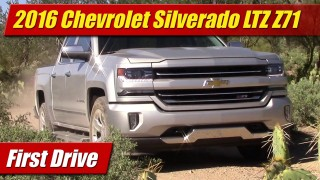 First Drive: 2016 Chevrolet Silverado LTZ Z71