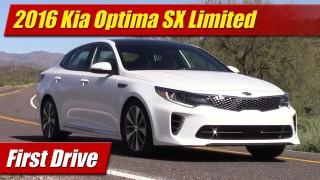 First Drive: 2016 Kia Optima SX Limited
