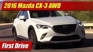 First Drive: 2016 Mazda CX-3 AWD