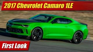 First Look: 2017 Chevrolet Camaro 1LE