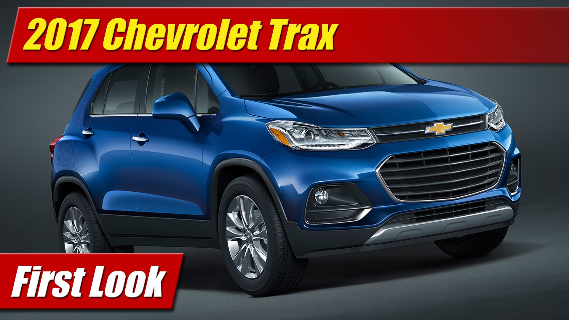 first look 2017 chevrolet trax testdriven tv. Black Bedroom Furniture Sets. Home Design Ideas