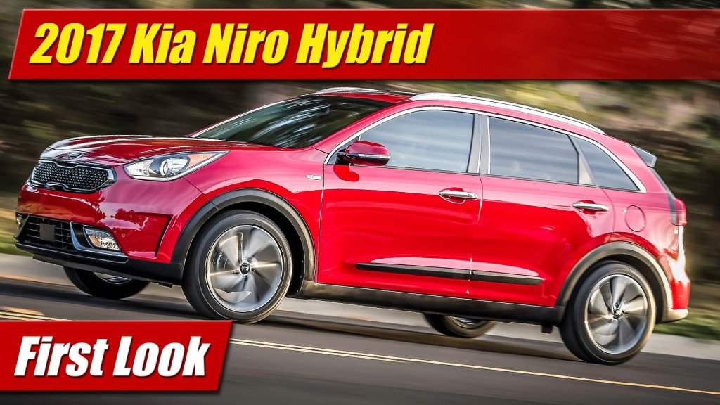 first look 2017 kia niro hybrid utility vehicle. Black Bedroom Furniture Sets. Home Design Ideas