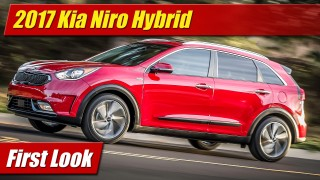 First Look: 2017 Kia Niro Hybrid Utility Vehicle