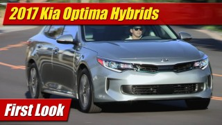First Look: 2017 Kia Optima Hybrids