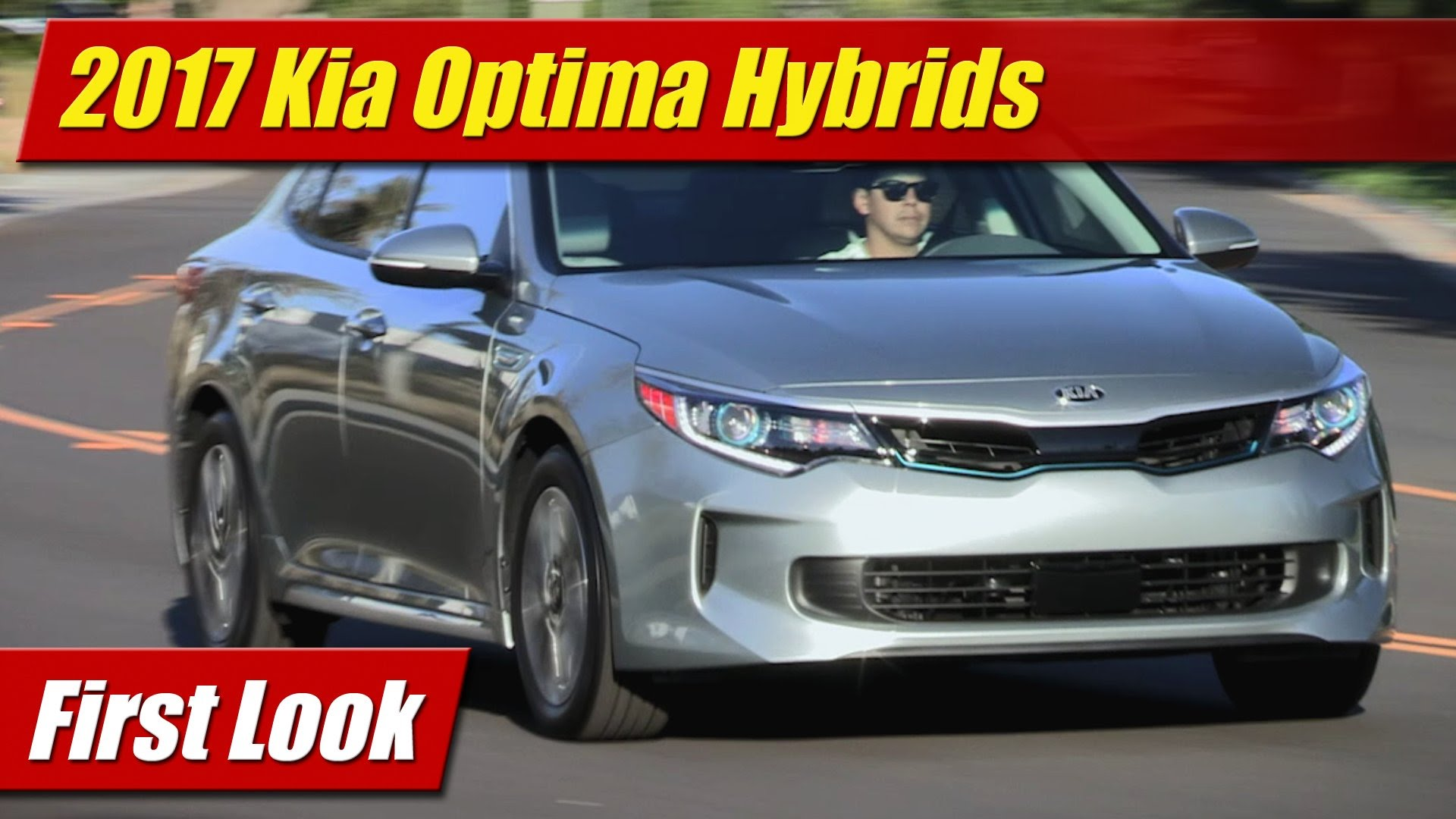 First Look 2017 Kia Optima Hybrids