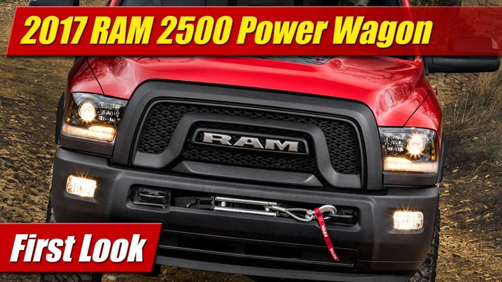 Simple First Look 2017 RAM 2500 Power Wagon  TestDrivenTV