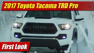 First Look: 2017 Toyota Tacoma TRD Pro