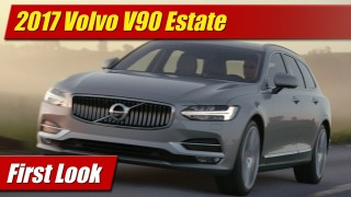 First Look: 2017 Volvo V90 Estate