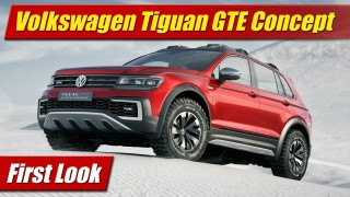 First Look: Volkswagen Tiguan GTE Active Concept