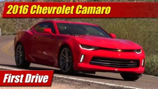First Drive: 2016 Chevrolet Camaro