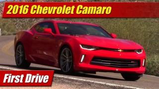First Drive: 2016 Chevrolet Camaro